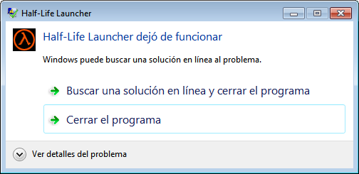 [Problema] No me anda el Counter Strike