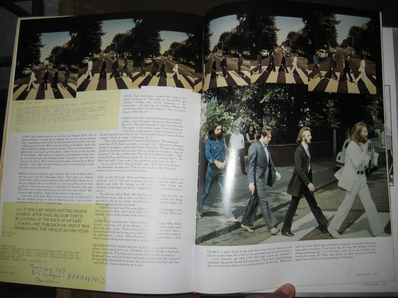 The Beatles Anthology Libro