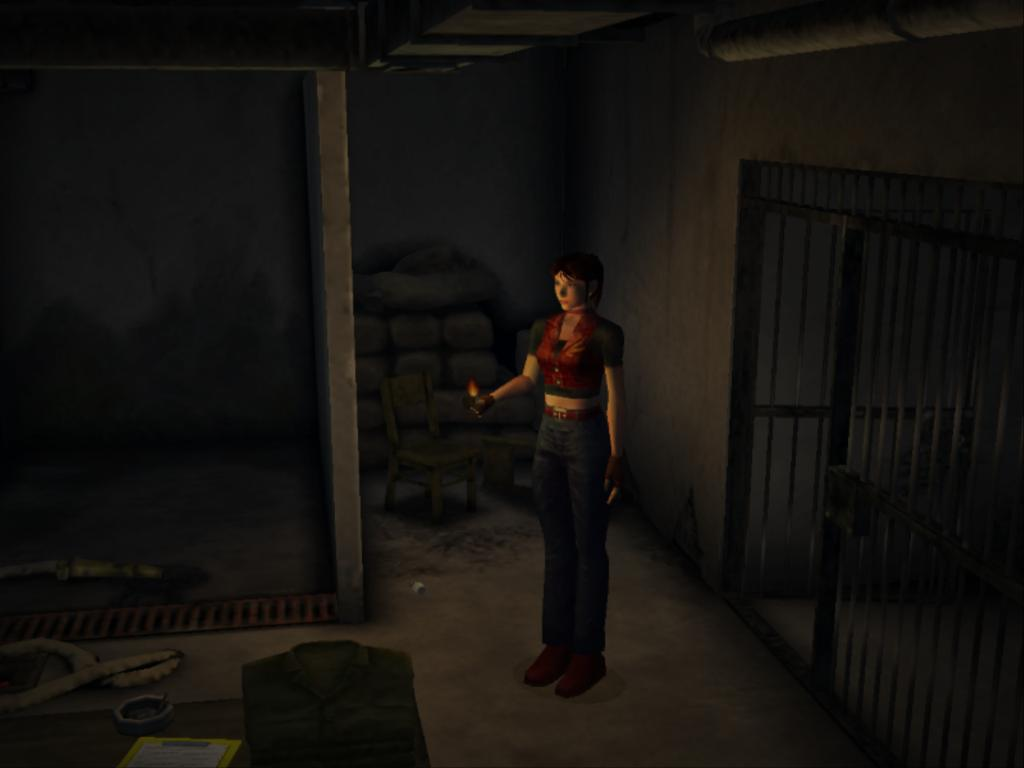 Claire redfield compilacion 1 re2 - 4 1
