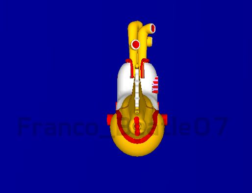 Yellow Submarine en 3D[Por Mi]