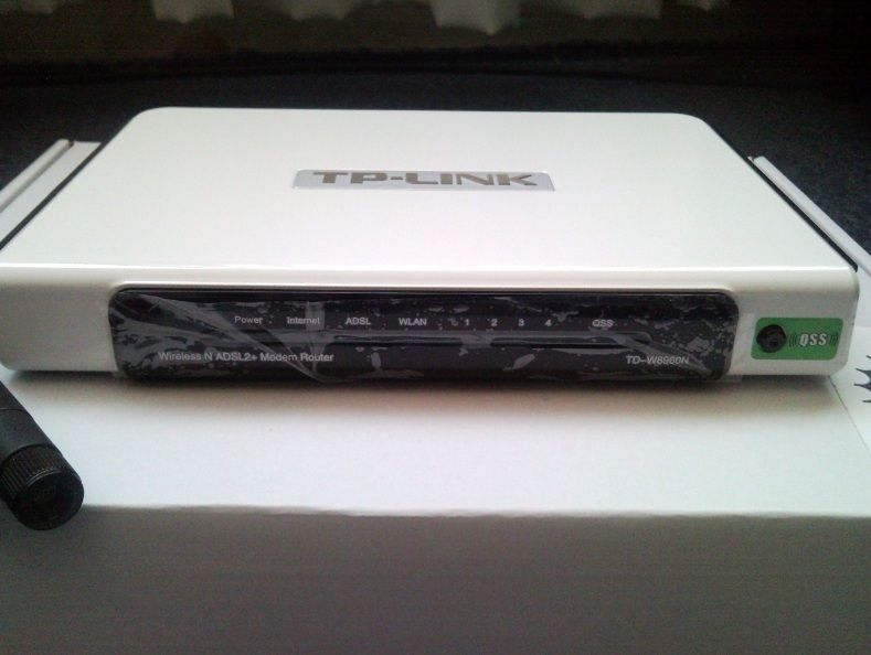 Tp - Link Modem Router adsl2+ td-w8960n wireless N Unboxing